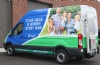 Check out our new dental van wrap!